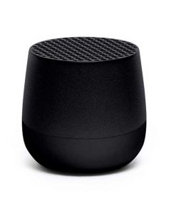 This black speaker has been designed for the Mino collection by Lexon.