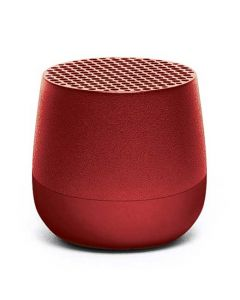 This red aluminium speaker has been made for the Mino collection by Lexon.