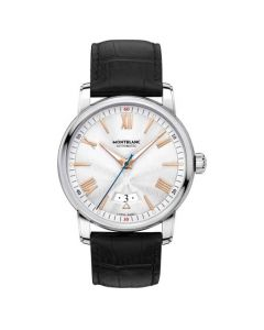 This Montblanc watch has been designed for their 4810 collection.