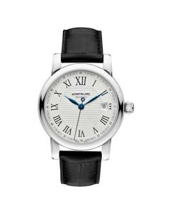 This watch has been designed by Montblanc for their Star Roman collection.