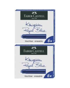 Royal blue ink cartridges by Graf Von Faber-Castell.