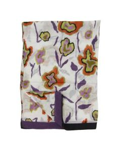 This Paul Smith ladies scarf comes with a floral heat map print on the front and back.