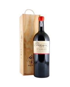 This Fonseca 10 Year Old Tawny Port 300 cl Bottle will be presented inside a decorative wooden box.