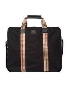 The Paul Smith black garment carrier bag.
