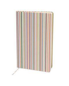 Signature striped Paul Smith notebook.