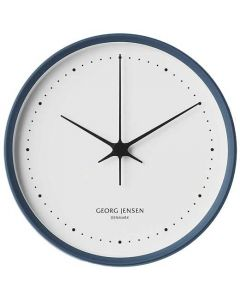 This is the Georg Jensen Koppel Blue & White 22cm Wall Clock.