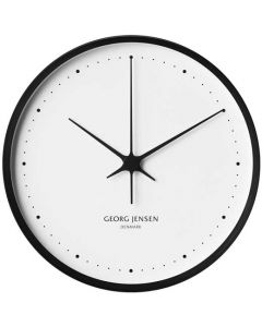 This is the Georg Jensen Koppel Black & White 30cm Wall Clock.