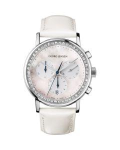 Georg Jensen Ladies' Chronograph Quartz Koppel Watch.