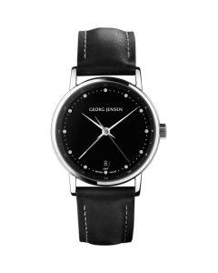 Ladies' Quartz Watch - Koppel 32 mm dual time by Georg Jenson.