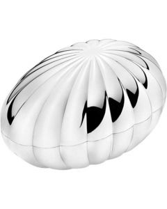 Georg Jensen Legacy Egg-Shaped Large Bonbonniere.