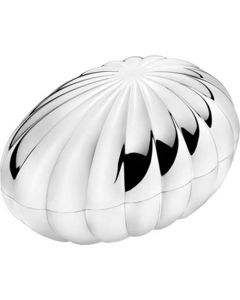 This is the Georg Jensen Legacy Egg Shaped Small Bonbonniere.