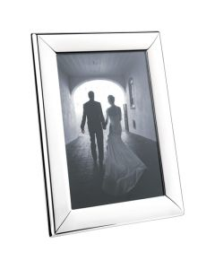 Georg Jensen Large Modern Photo Frame - produced in stainless steel, glass and plastic.