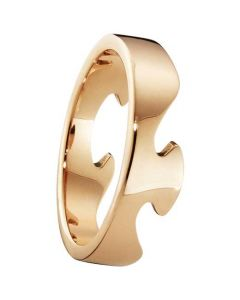Fusion Ring in Rose Gold by Georg Jensen.