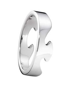 Georg Jensen Fusion Ring in White Gold.
