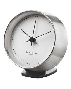 The Georg Jensen HK black clock stand.