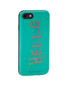 The Paul Smith jade green lenticular 'Hello' iphone 7 case.