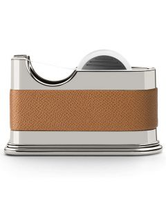 This is the Graf von Faber-Castell Cognac Epsom Tape Dispenser.