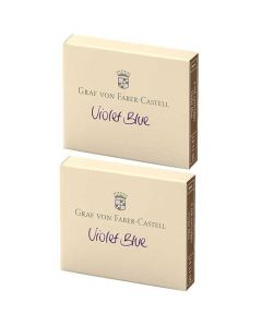 These are the Graf von Faber-Castell Heritage Violet Ink Cartridges 2 x Pack of 6.