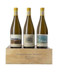 This is the Hamilton Russell Vineyards Chardonnay Vertical 2015, 2016 & 2017 3x75cl.