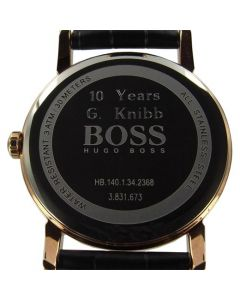Wheelers Luxury Gifts specialise in engraving onto watches.