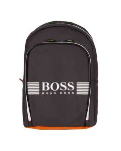 This Hugo Boss grey backpack is part of the Pixel collection.