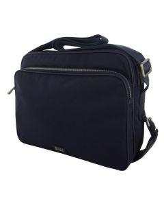 Hugo Boss Tamson Navy Polyester Messenger Bag.
