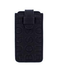 Hugo Boss Sadiki Black Leather Phone Case.