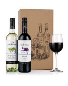 Italian wine duo.