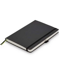 This is the LAMY Black A5 Softcover Ruled Notebook.