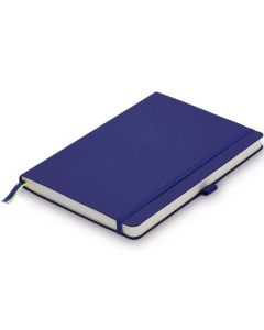 This is the LAMY Blue A5 Softcover Ruled Notebook.