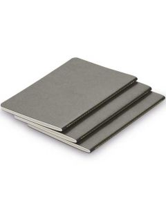 LAMY Grey A5 Softcover Set of 3 Paper Booklets.