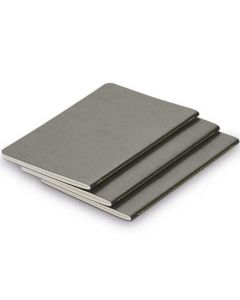 These are the LAMY Grey A6 Softcover Set of 3 Paper Booklets.