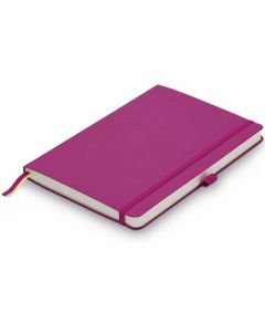 This is the LAMY Pink A6 Softcover Ruled Notebook.