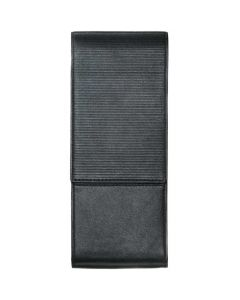This is the LAMY Nappa Leather Black 3 Pen Pouch.