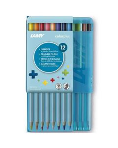These are the LAMY Colourplus Pencils Pack of 12 in Plastic Case.