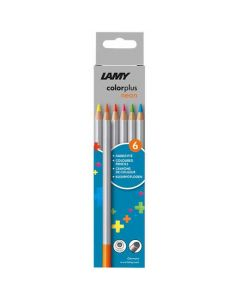 These are the LAMY Colourplus Neon Pencils Pack of 6.