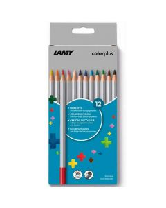 These are the LAMY Colourplus Pencils Pack of 12.