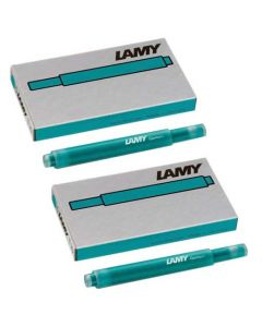 These are the LAMY T 10 Turmaline Ink Cartridges.