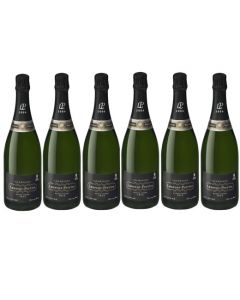 6 bottles of Laurent-Perrier Vintage 2006, Brut Champagne 75 cl with gift boxes.