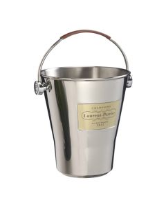 Laurent-Perrier Stainless Steel Magnum Champagne Cooler.