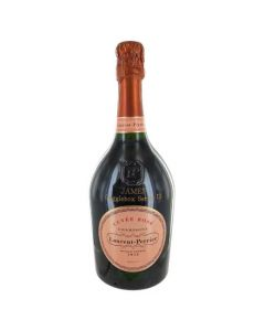 This bottle of Laurent Perrier champagne has been made for tv series Gogglebox.