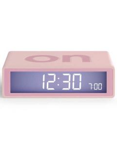 This pink alarm clock has been created by Lexon.