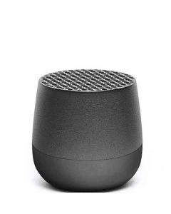 This gun metal grey speaker has been designed by Lexon.