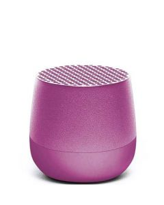 This purple speaker has been designed by Lexon as part of their Mino range.