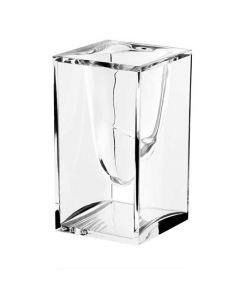 This transparent pen pot has been designed by Lexon as part of their Liquid collection.