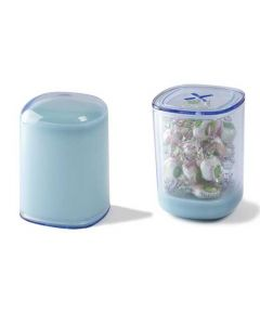 This light blue Lexon storage box has been created as part of their Secret range.