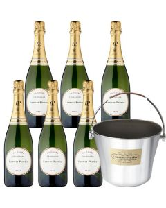 Laurent-Perrier Ultimate Champagne Bucket and 6x75cl Brut Champagne Bottles.