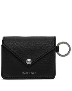 This is the Matt & Nat Black Dwell Collection OZMA Coin Purse.