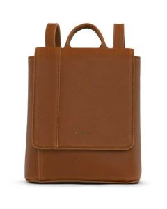 Matt & Nat Chili Matte Nickle Vintage Collection DEELY Mini Backpack.