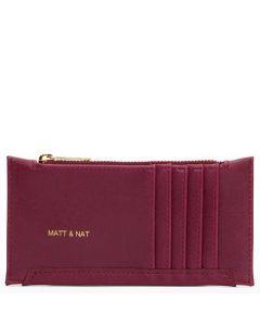 Matt & Nat Garnet Vintage Collection JESSE Wallet.